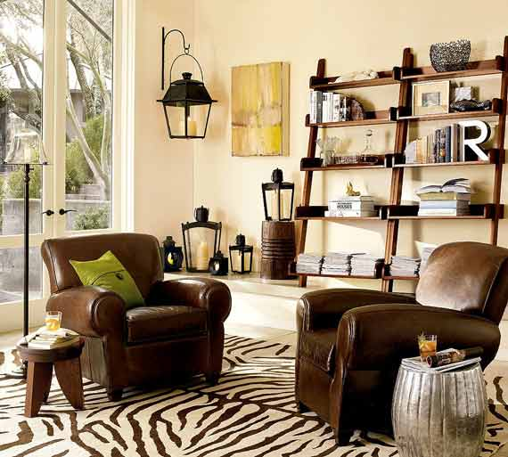 exhibidor tipo escalera muebles y artes. Black Bedroom Furniture Sets. Home Design Ideas